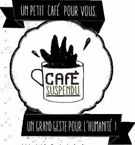 café suspendu pour lutter contre la précarité et offrir un peu de chaleur