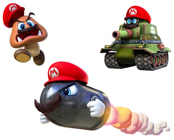 Mario odyssée sur nintendo switch possession des ennemis