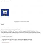 tentative de phishing labanquepostale