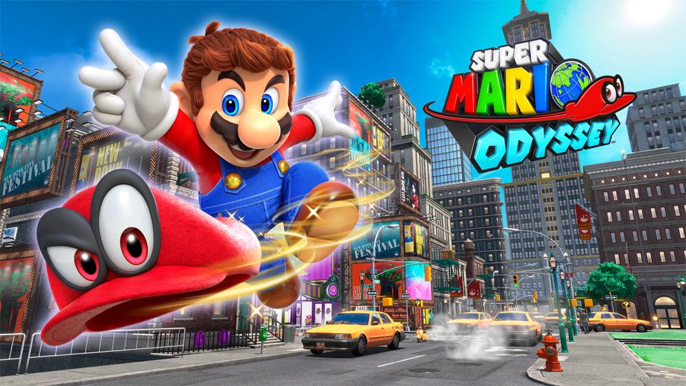 Mario Odyssée sur Nintendo Switch