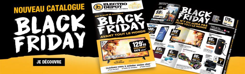 le black friday est aussi chez electro depot