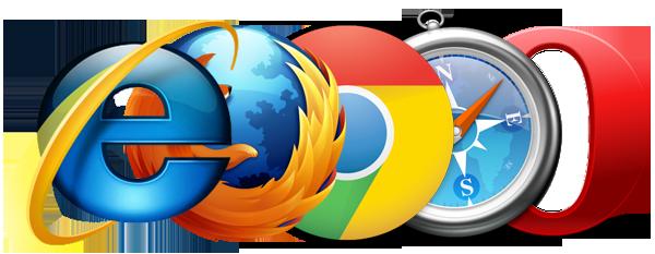 Les logos lexique oueb des moteurs de recherche sur internet