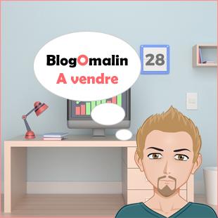 a vendre blogomalin